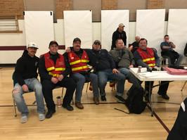 Travis Falter, Patrick Park, Lt. Scott Tweedy, Tommy Nickerson, Lt. Dave Lewis, and Greg Cook at the ALERRT training