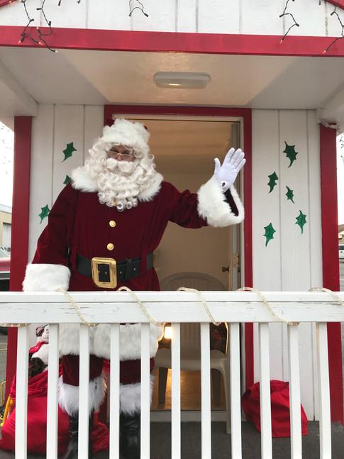 Capt. Krumenacker as Santa