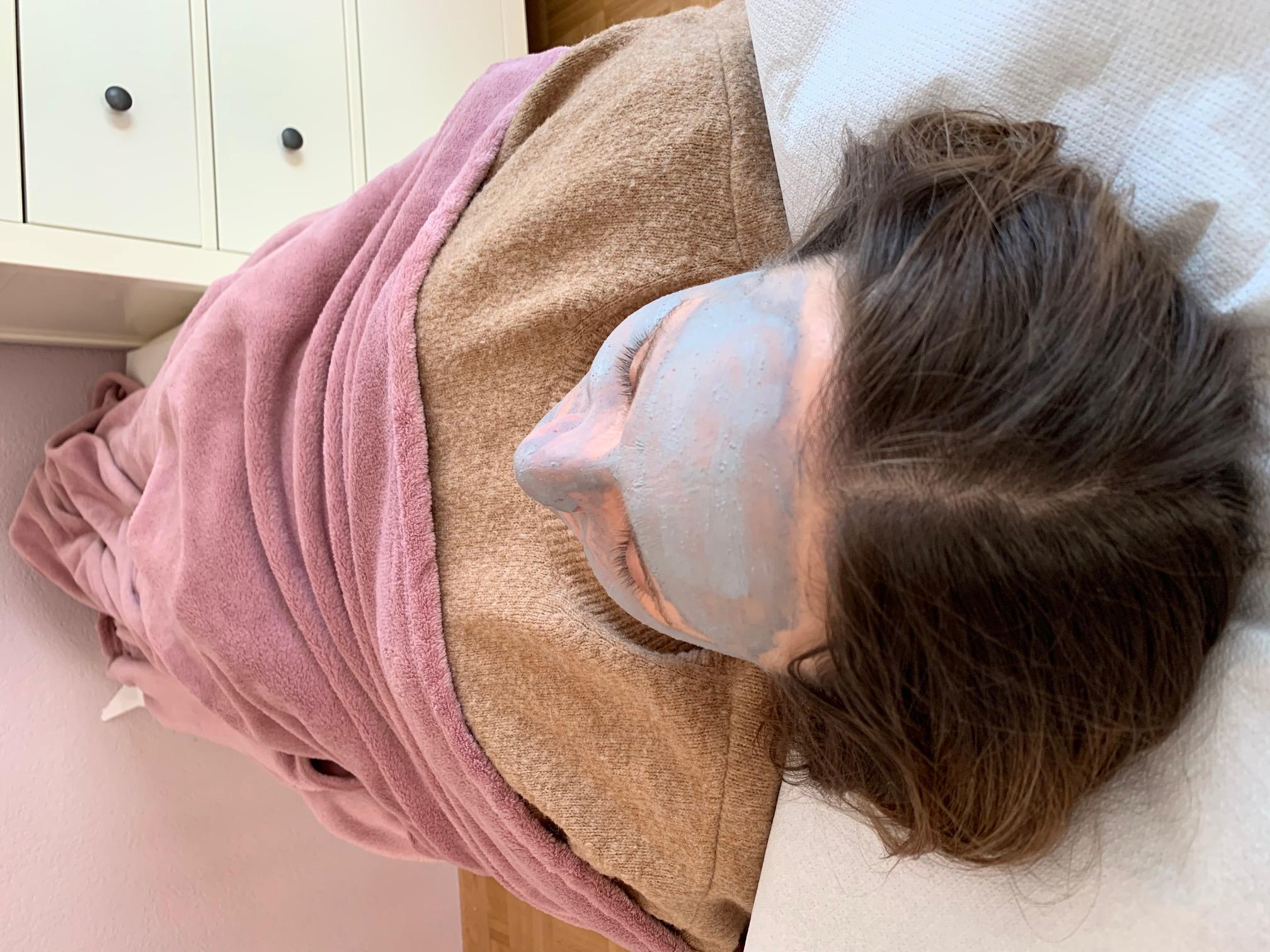 Alginat Maske