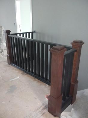 Split Stained Handrail