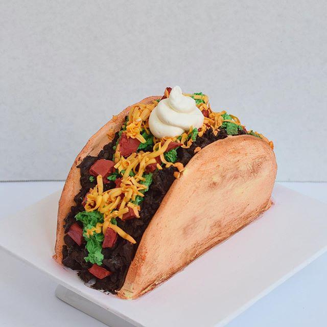 taco smash cake