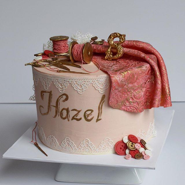 Custom sewing birthday cake erie