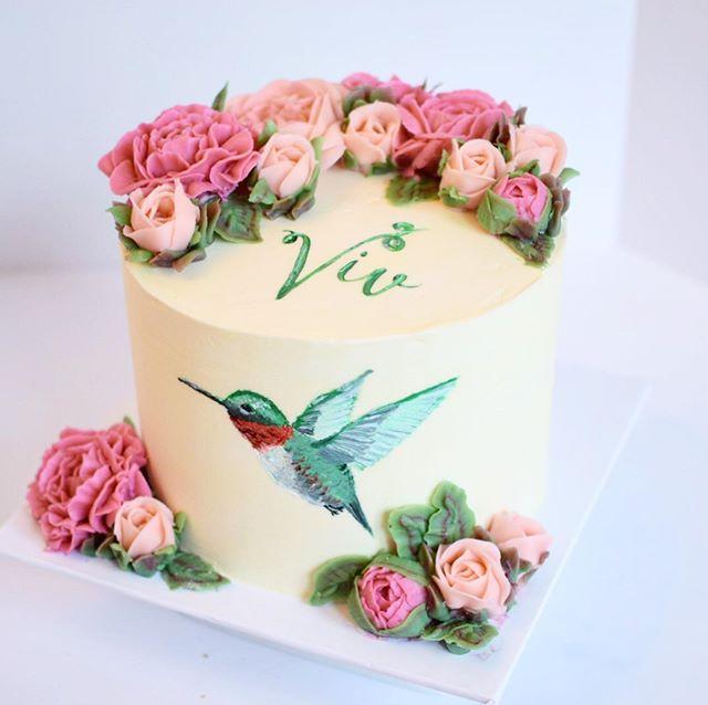 Custom painted birthday cake Erie PA