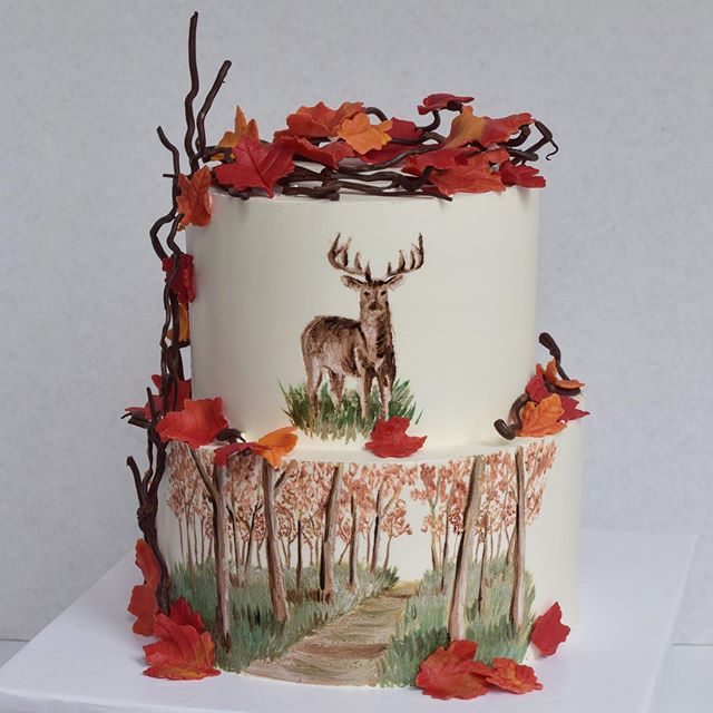 Outdoorsy cake