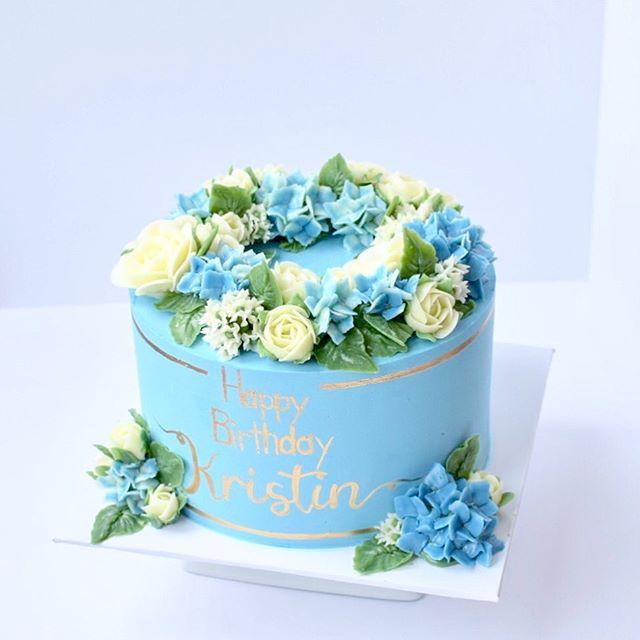 Flower birthday cake Erie PA