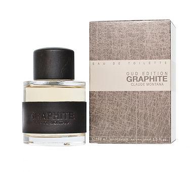 Parfums Montana Paris, Eau de Toilette pour Homme Graphite Oud Edition Claude Montana