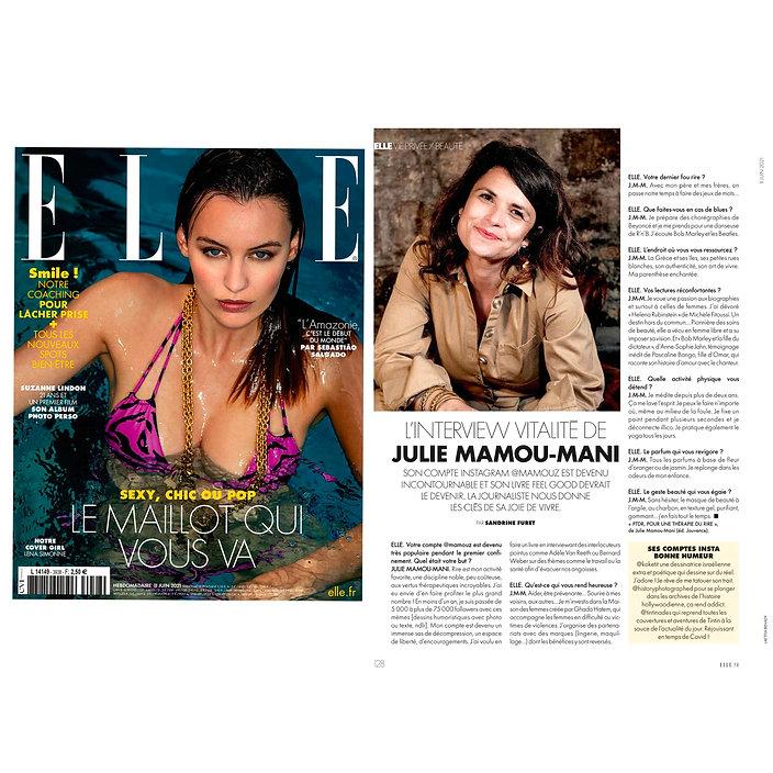 Portrait Julie Mamou-Mani @mamouz, Elle magazine, Photo Laetitia Benady