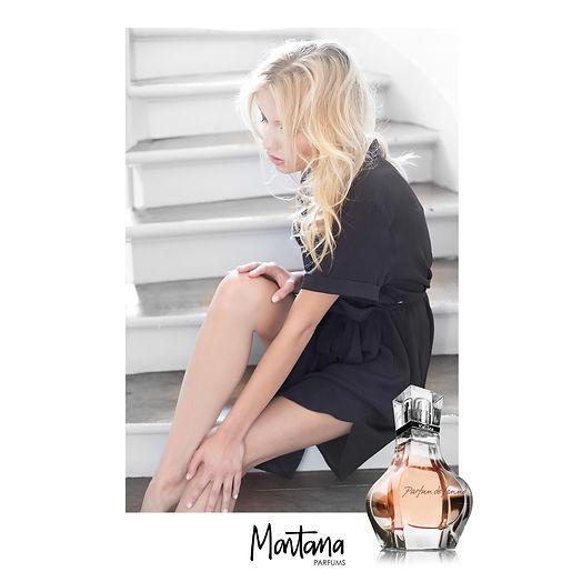 Parfums Montana Paris, Eau de Toilette pour Femme Parfum de Femme