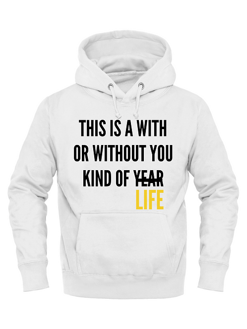 KB Quote Hoodie With