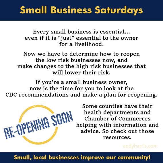 Small Business Saturday 7