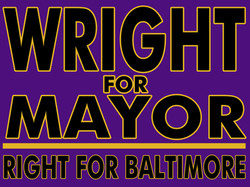 Wright for Mayor logo