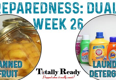 2021 Preparedness - Dual Focus: Week 26