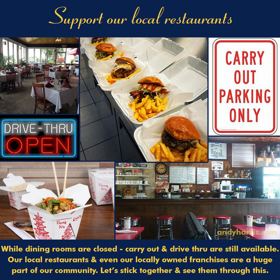 Support Our Restaurants