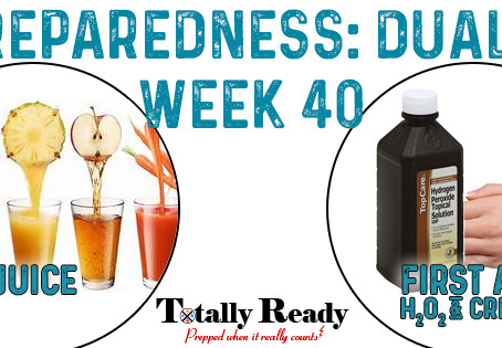 2021 Preparedness - Dual Focus: Week 40
