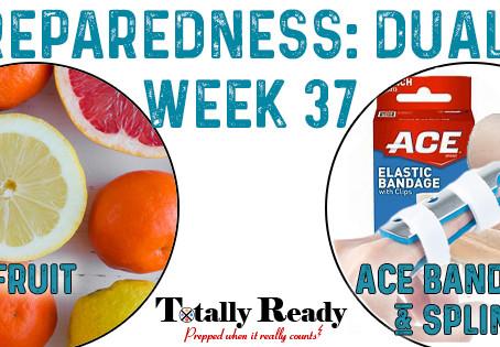 2021 Preparedness - Dual Focus: Week 37