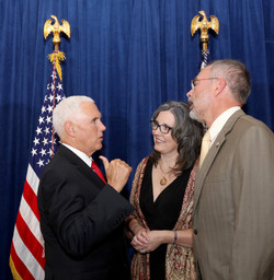 With VP Mike Pence