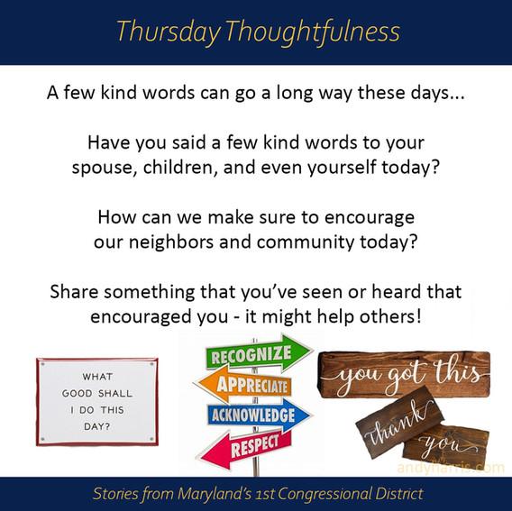 Thursday Thoughtfulness 3