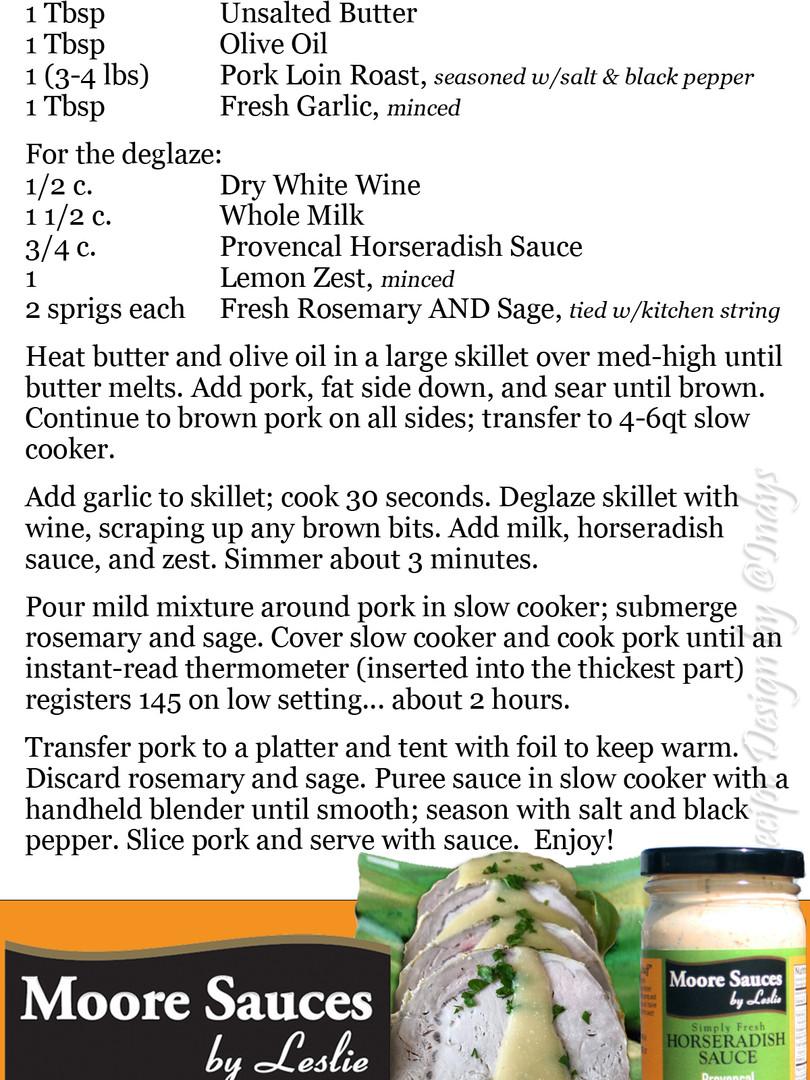 Leslie's Italian Milk Braised Pork