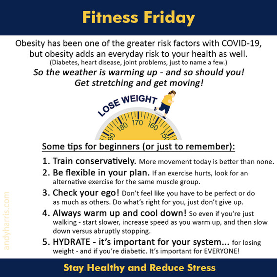 Fitness Friday 9