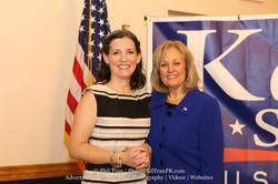 With Del. Kathy Szeliga