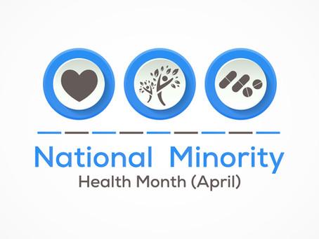 Minority Health Awareness Month