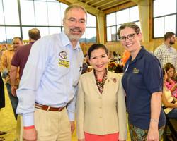 With Maryland's 1st Lady Yumi Hogan