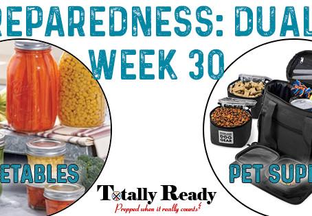 2021 Preparedness - Dual Focus: Week 30