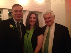 With Newt Gingrich