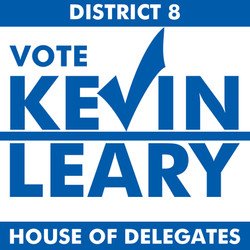Kevin Leary for Delegate logo