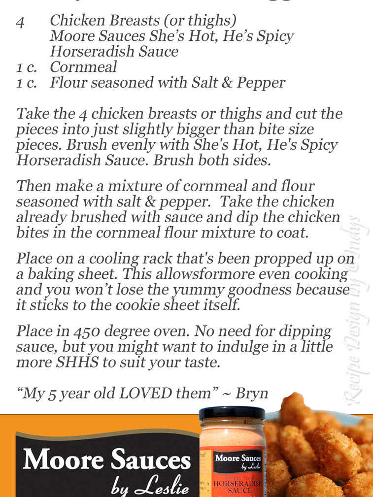 Bryn's Chicken Nuggets