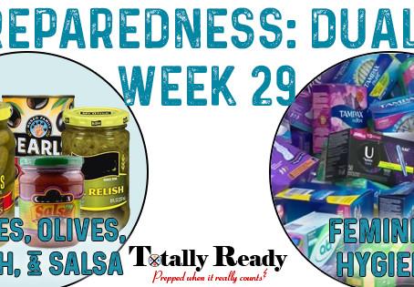 2021 Preparedness - Dual Focus: Week 29