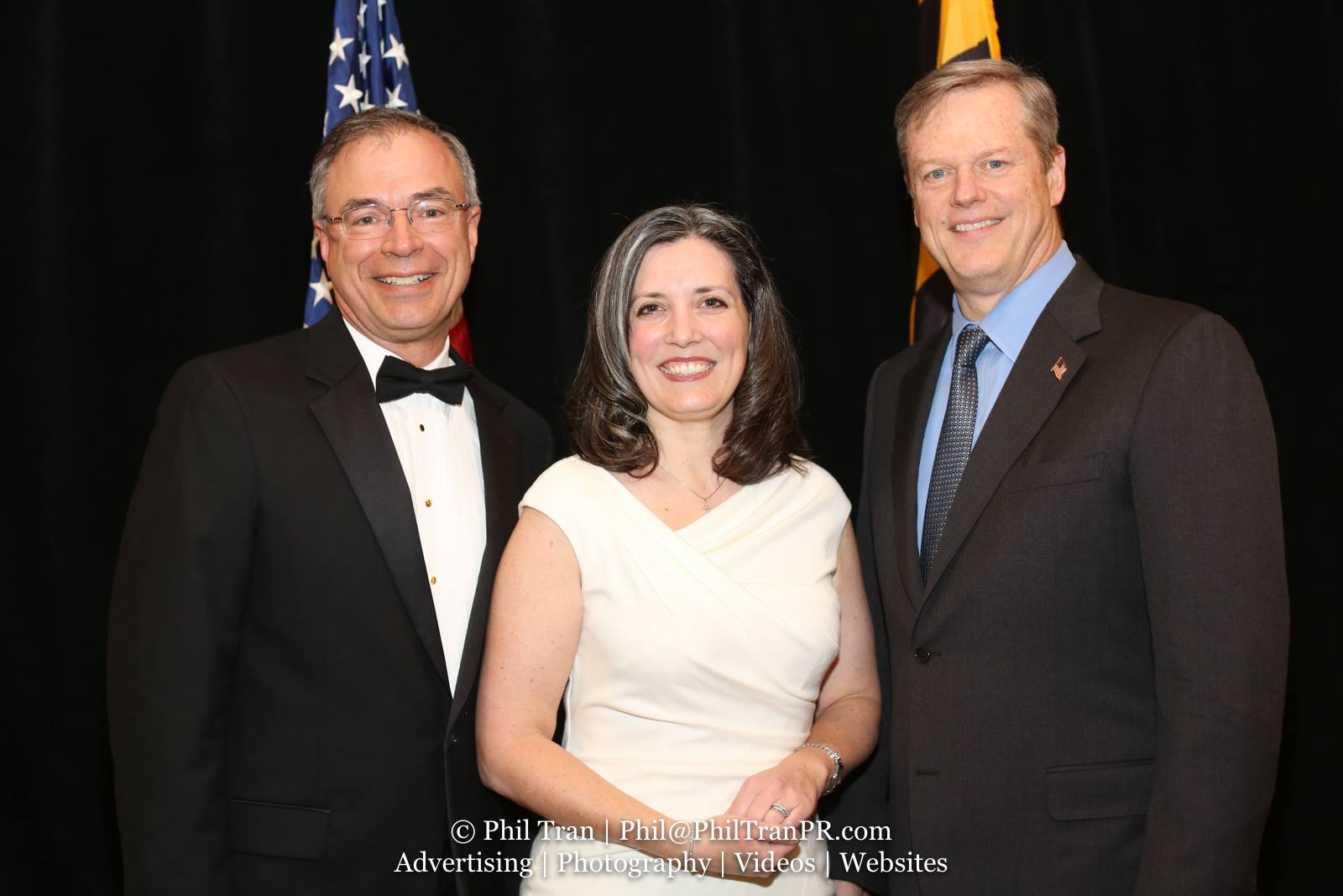 With Gov. Baker - Massachussetts