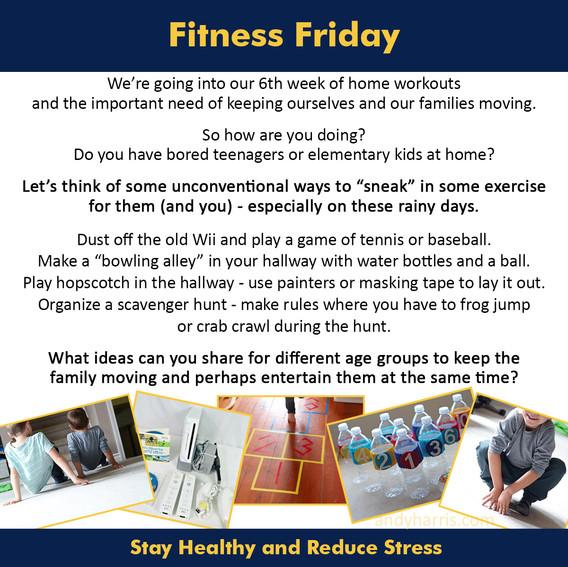 Fitness Friday 6