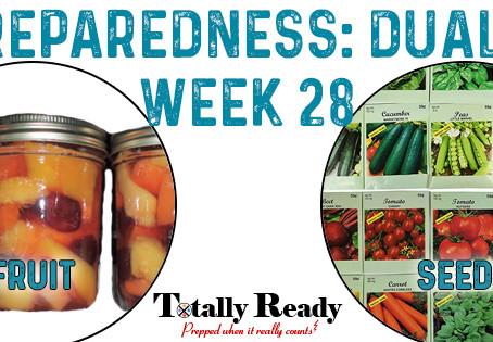 2021 Preparedness - Dual Focus: Week 28