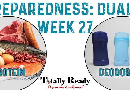 2021 Preparedness - Dual Focus: Week 27