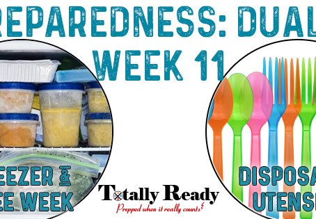 2021 Preparedness: Dual Focus Week 11