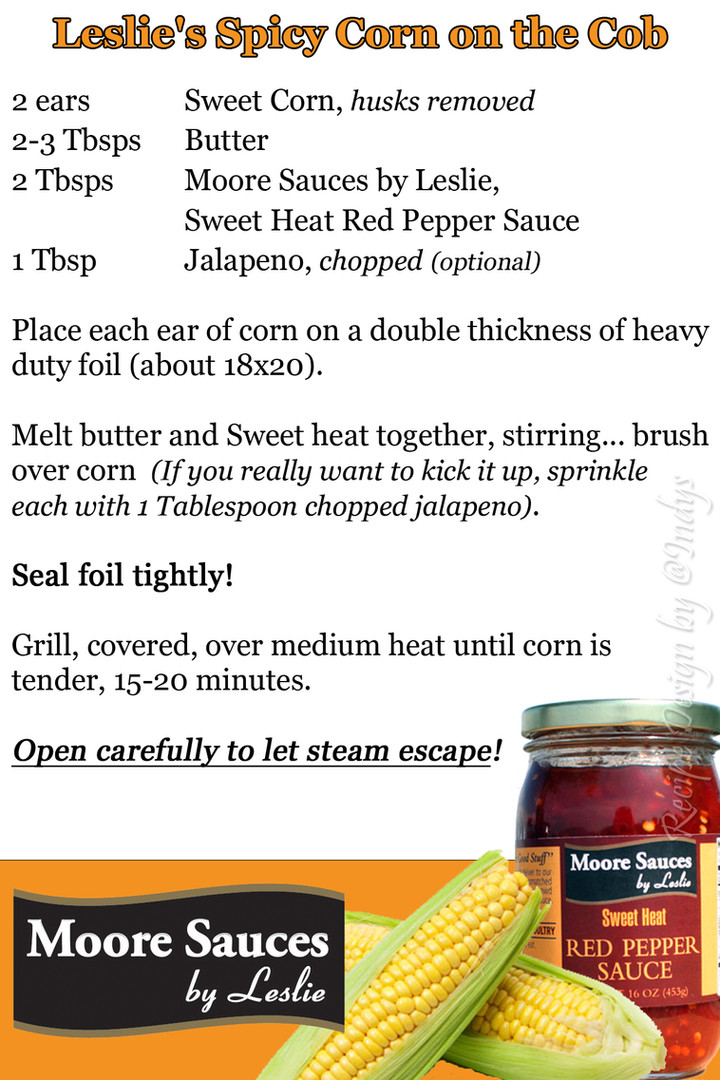 Leslie's Spicy Corn Cob