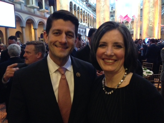 With Former Speaker Paul Ryan