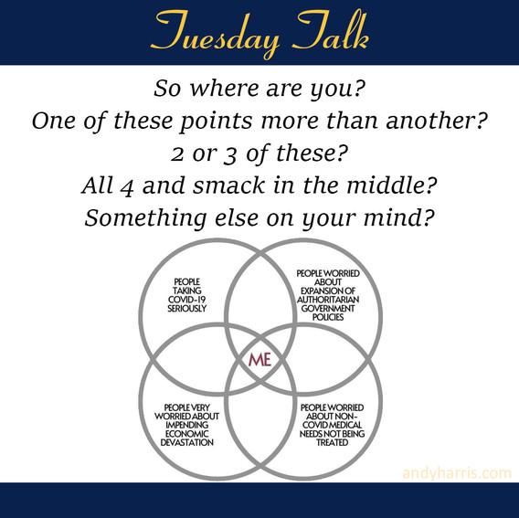 Tuesday Talk 5