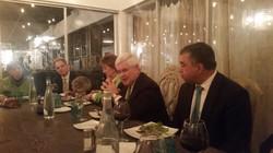 Dinner w/Newt Gingrich & DavidBossie