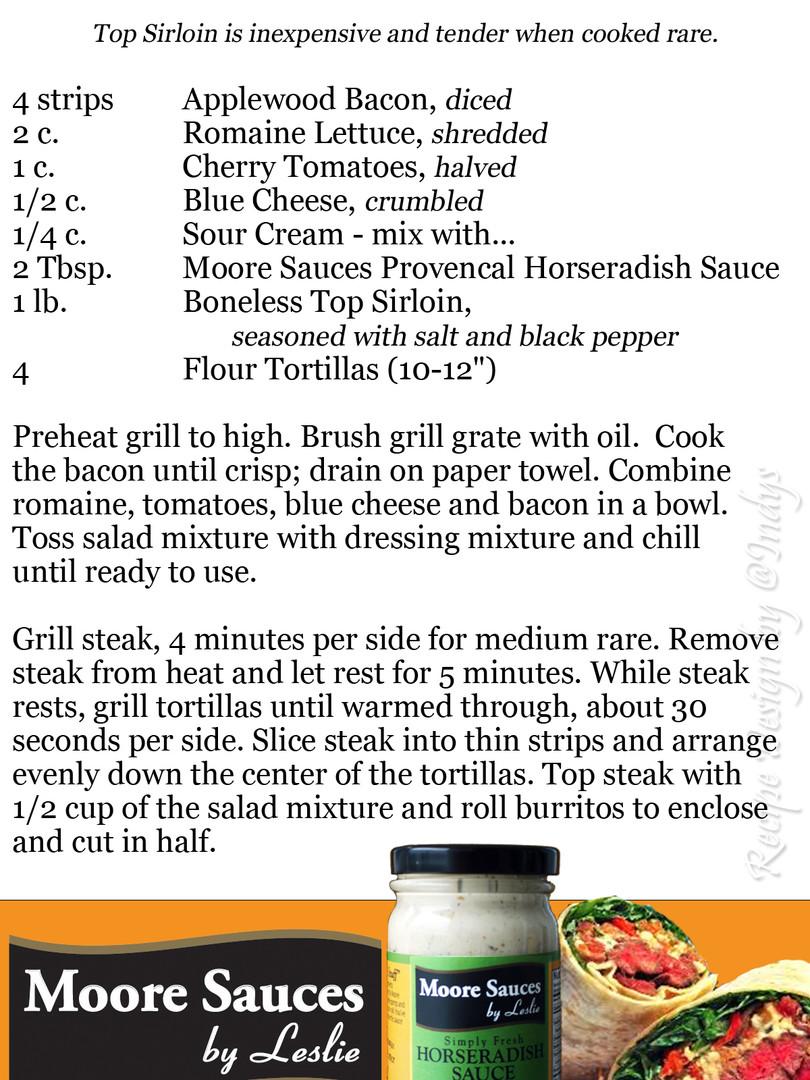 Leslie's Steak House Burrito