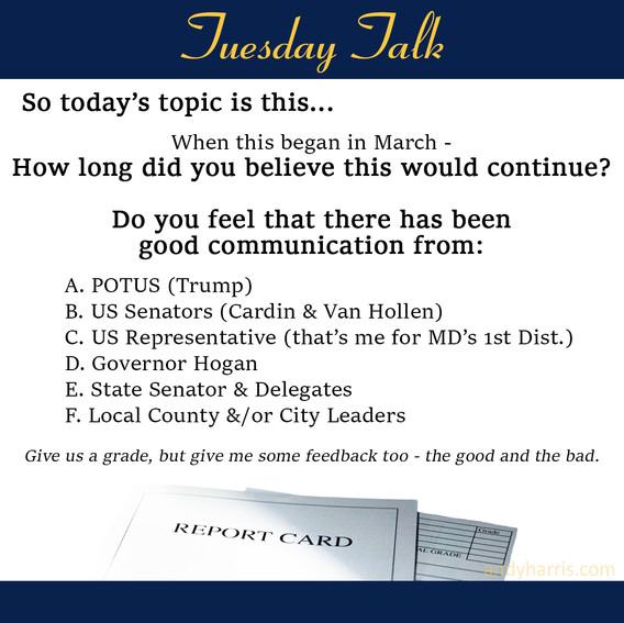 Tuesday Talk 8