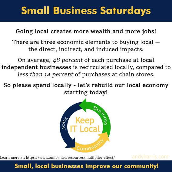 Small Business Saturday 10