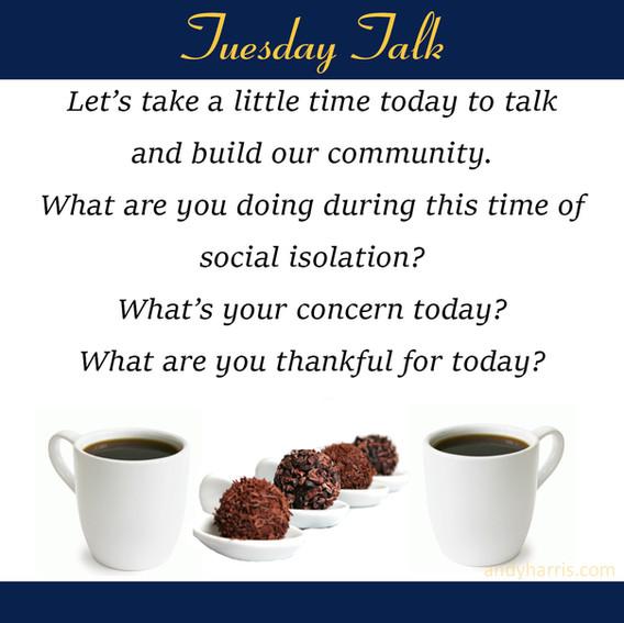 Tuesday Talk 1