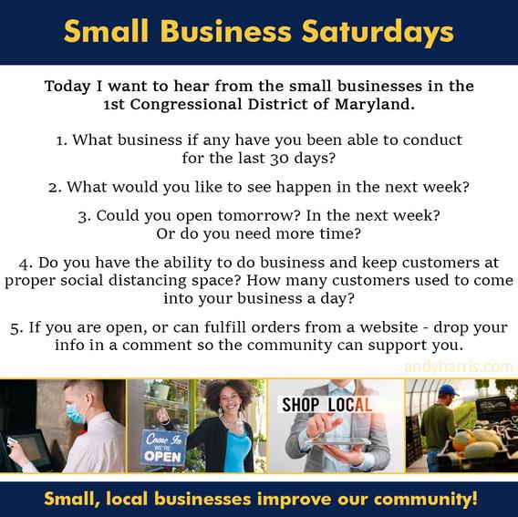 Small Business Saturday 6
