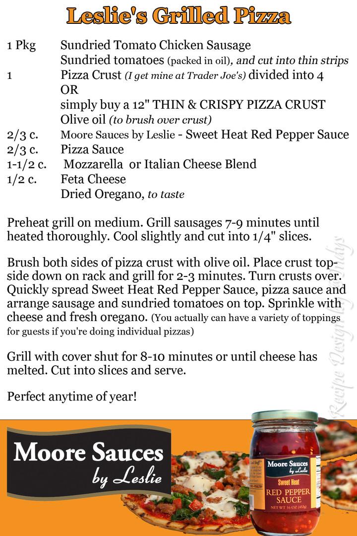 Leslie's Grilled Pizza