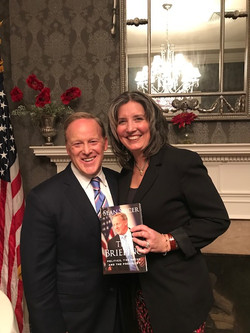 With Sean Spicer