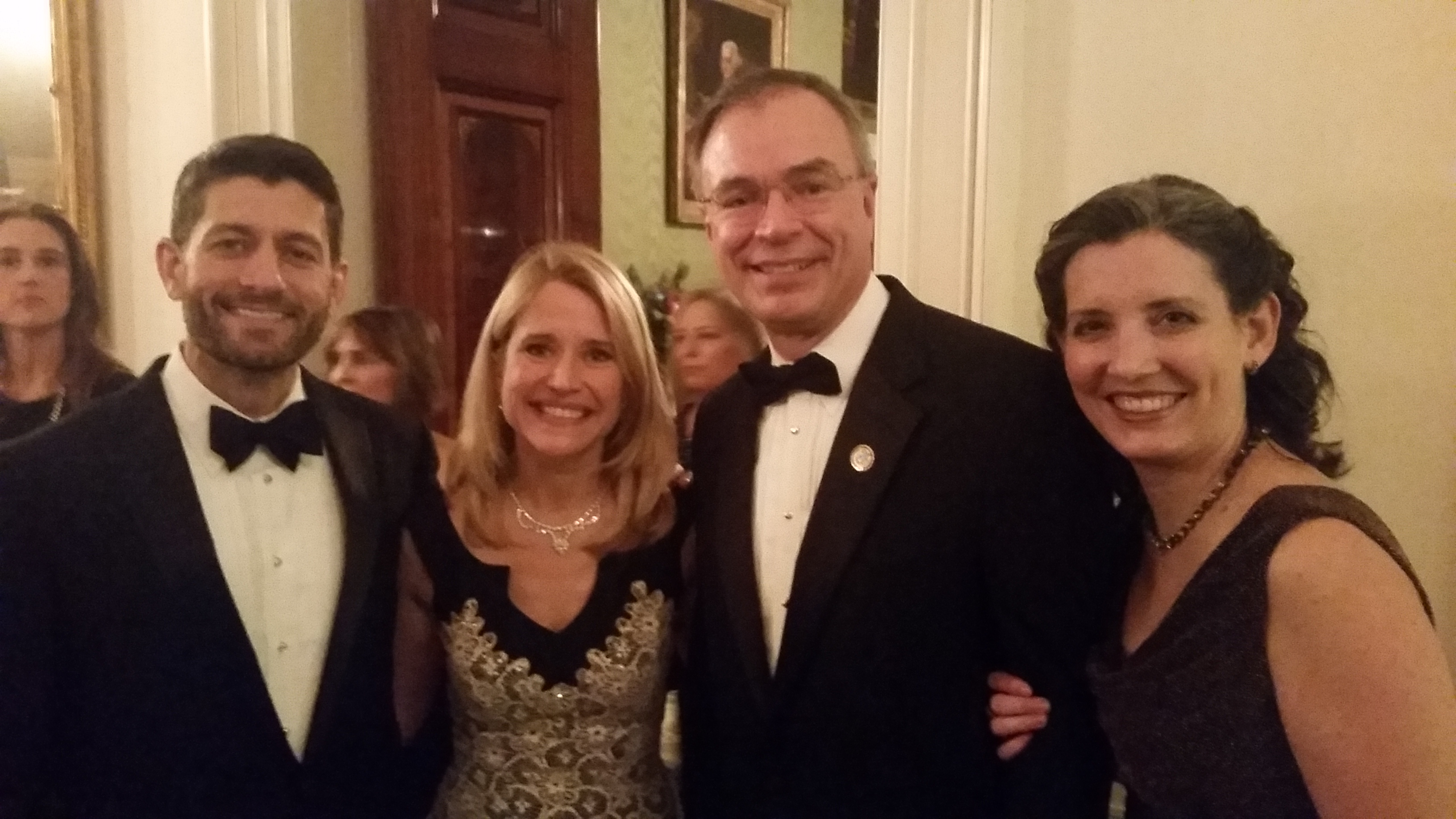 With Paul & Jenna Ryan in the WH2015