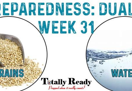 2021 Preparedness - Dual Focus: Week 31