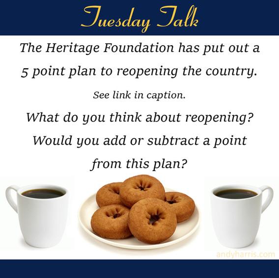 Tuesday Talk 4